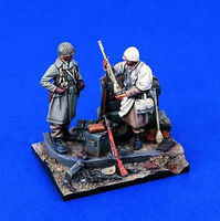 Verlinden Spoils of War WWII G.I.s Resin Military Diorama Kit 1/35 Scale #1292