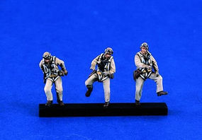 Verlinden USN WWII Pilots Resin Model Military Figure Kit 1/48 Scale #1298