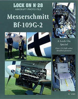 Verlinden Lock On #28 BF-109G-2 Messerschmitt Authentic Scale Model Airplane Book #1303