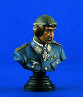 Verlinden 200mm Galland Bust Set Resin Model Military Figure Kit 1/10 Scale #1341