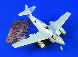 Verlinden Me262A/B Update Set Plastic Model Aircraft Accessory 1/48 Scale #1387