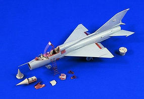Verlinden Mig21 Fishbed Detail Set Plastic Model Aircraft Accessory 1/48 Scale #1395