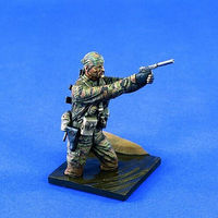 Verlinden 120mm LRRP Vietnam Resin Model Military Figure Kit 1/16 Scale #1398