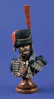 Verlinden 200mm Captain Guard Artillery Bust Resin Model Military Figure Kit 1/10 Scale #1417