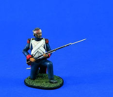 Verlinden 120mm Chasseur/Old Guard Waterloo Resin Model Military Figure Kit 1/16 Scale #1441