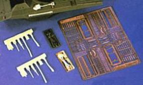 Verlinden US Pioneer Tools, Racks, Tie Downs Plastic Model Vehicle Accessory 1/35 Scale #1476