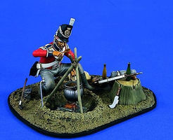 Verlinden 120mm 1st Foot Guards Waterloo Post Battle Resin Model Military Figure Kit 1/16 Scale #1479