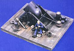 Verlinden Productions 54mm 13'' Siege Mortar Dictator -- Resin Military Diorama Kit -- 1/32 Scale -- #1539