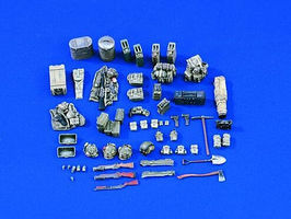 Verlinden US Military Vehicle Stowage Vietnam Plastic Model Vehicle Accessory 1/35 Scale #1585