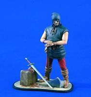 Verlinden 120mm Medieval Headsman Resin Model Figure Kit 1/16 Scale #1611