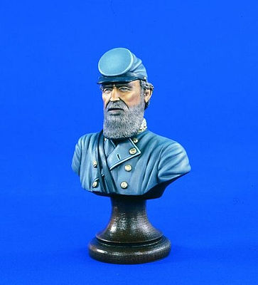 Verlinden Productions 200mm Stonewall Jackson Bust -- Resin Model Military Figure Kit -- 1/10 Scale -- #1665