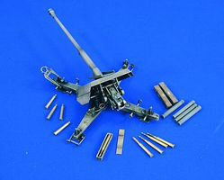 Verlinden 88mm Anti-Gun PaK 43 Plastic Model Weapon Kit 1/35 Scale #1667