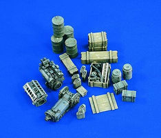 Verlinden Military Cargo Germany WWII Plastic Model Detailing Accessory 1/35 Scale #1693