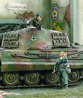 Verlinden German Infantry & Tank Commander Resin Model Military Figure Kit 1/35 Scale #1711