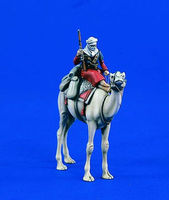 Verlinden Mounted Beduin Arabian Soldier/Camel Resin Model Military Figure Kit 1/35 Scale #1728