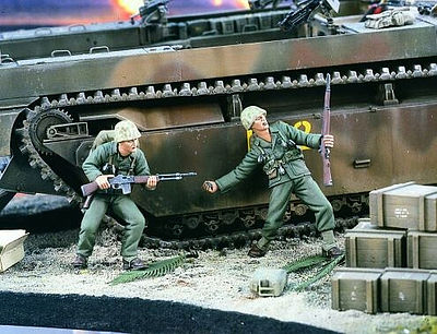 Verlinden Productions WWII USMC Pacific -- Resin Model Military Figure Kit -- 1/35 Scale -- #1737