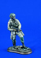 Verlinden 120mm 101st Airborne Thompson Gunner Resin Model Military Figure Kit 1/16 Scale #1788