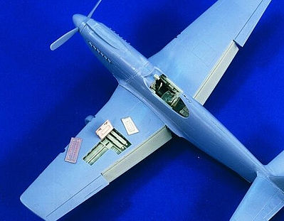 Verlinden Productions P51A Update Set -- Plastic Model Aircraft Accessory -- 1/48 Scale -- #1789