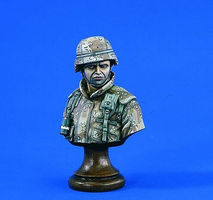 Verlinden 200mm American Hero Army Soldier Bust Resin Model Military Figure Kit 1/10 Scale #1805