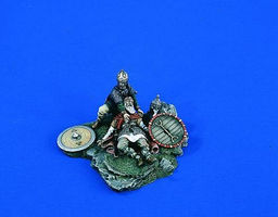 Verlinden 54mm Death of a Warrior Resin Military Diorama Kit 1/32 Scale #1806