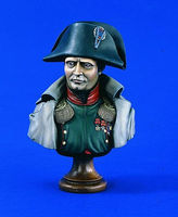 Verlinden Napoleon, The Emperor in Overcoat Bust Resin Model Military Figure Kit 1/5 Scale #1847