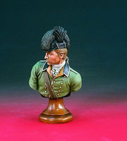 Verlinden 200mm Col. Banastre Tarleton British Legion Bust Resin Model Figure Kit 1/10 Scale #1933