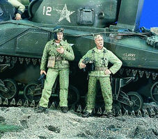 Verlinden US Marine Tankers Resin Model Military Figure Kit 1/35 Scale #1949