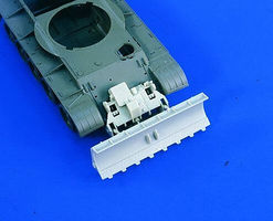 Verlinden T55 Dozer Blade Attachment Kit for TAM Plastic Model Vehicle Accessory 1/35 Scale #1957