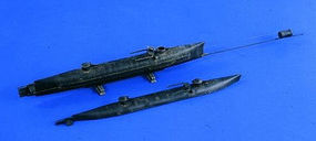 Verlinden 54mm Hunley C.S.S. Confederate Mini-Sub Resin Model Military Ship Kit 1/32 Scale #2000