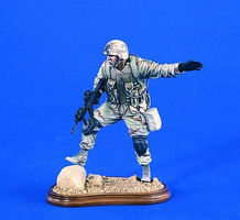 Verlinden 120mm Soldier 101st Airborne Iraq 2003 Resin Model Military Figure Kit 1/16 Scale #2008