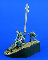 Verlinden Approach to Stalingrad Resin Military Diorama Kit 1/35 Scale #2057