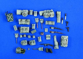 Verlinden Jeep Stowage Plastic Model Vehicle Accessory 1/35 Scale #2089