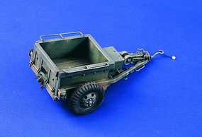 Verlinden US Armored Ammo Trailer WWII Plastic Model Weapon Kit 1/35 Scale #2100