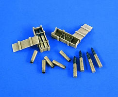 Verlinden 120mm T34/76 Ammo Set for TSM Plastic Model Weapon Accessory 1/16 Scale #2136