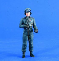 Verlinden 120mm WWII German Tank Commander Resin Model Military Figure Kit 1/16 Scale #2154