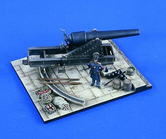 Verlinden 54mm Union 100 Pounder Parrot Plastic Model Weapon Kit 1/32 Scale #2161