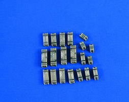 Verlinden Ammo Cases for Tank & Artillery Plastic Model Weapon Accessory 1/48 Scale #2227