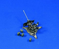 Verlinden 2cm FlaK 38A Anti-Aircraft Gun Plastic Model Weapon Kit 1/48 Scale #2232