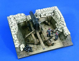 Verlinden 10 Heavy Seacoast Howitzer Resin Military Diorama Kit 1/32 Scale #2239