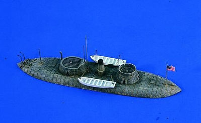 Verlinden Productions USS Keokuk Civil War Ironclad Waterline -- Plastic Model Ship Accessory -- 1/200 Scale -- #2276