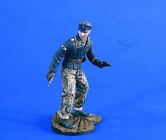 Verlinden 120mm German Panzer Officer WWII Resin Model Military Figure Kit 1/16 Scale #2306