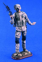 Verlinden 200mm US Airborne Resin Model Military Figure Kit 1/10 Scale #2318
