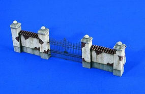 Verlinden Parkwall with Gate Resin Military Diorama Kit 1/48 Scale #2340
