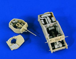 Verlinden German Panzer 38(t) Ausf E/F Interior Plastic Model Vehicle Accessory 1/35 Scale #2357