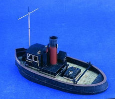 Verlinden WWII River/Harbor Tugboat Resin Model Military Ship Kit 1/35 Scale #2375