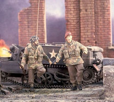 Verlinden Red Devils Soldiers D-Day/Arnhem Resin Model Military Figure Kit 1/35 Scale #2382