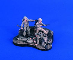 Verlinden Pacific Hell Diorama Resin Military Diorama Kit 1/35 Scale #2420
