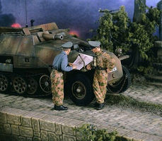 Verlinden Panzer Officers (2) Resin Model Military Figure Kit 1/35 Scale #2428