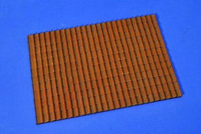 Verlinden Roof Tile Section Western Europe Style Resin Military Diorama Kit 1/35 Scale #2489