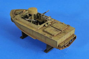 Verlinden LSSC Light SEAL Support Craft Vietnam Resin Model Military Ship Kit 1/35 Scale #2515